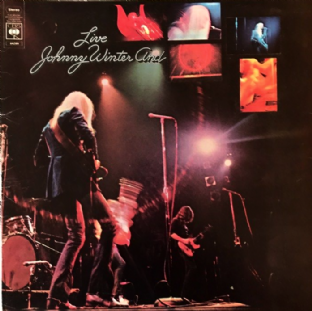 Johnny Winter And ‎- Live Johnny Winter And (LP) (VG/G-VG)